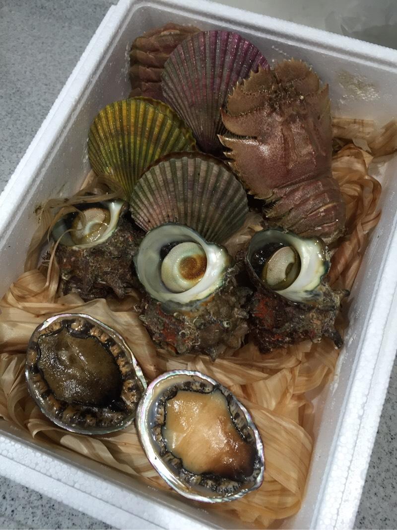 長崎県佐世保市のふるさと納税の返礼品が届く。ウチワエビ、ヒオウギガイなど珍しい海産物を少しづつ味わえるのが楽しい。