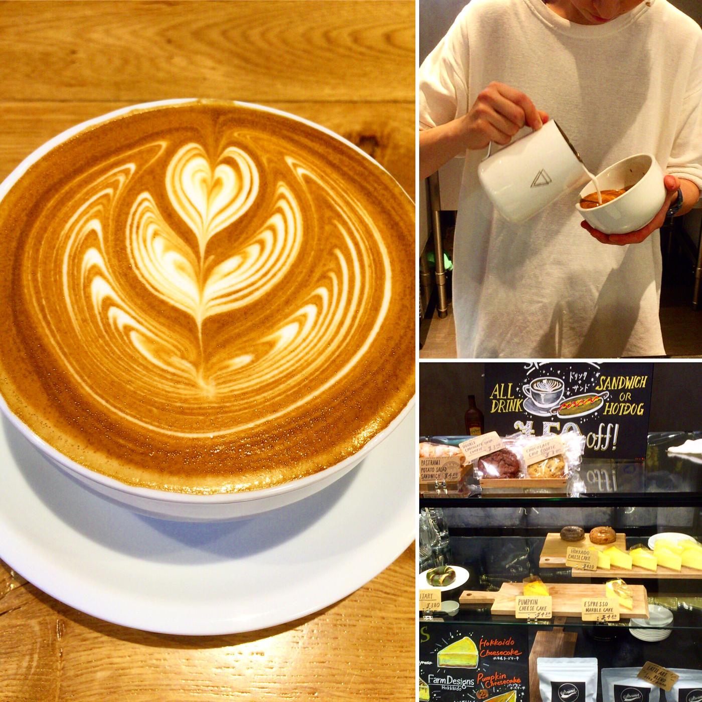 『ストリーマーコーヒーカンパニー』 買い物に疲れた私が癒やされたストリーマーラテ。本場イタリアにも負けない味。【札幌駅 カフェ】