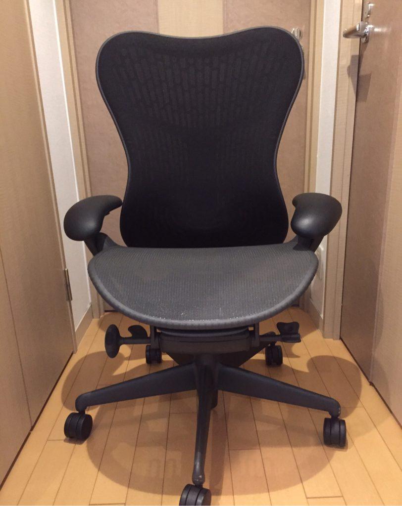 ハーマンミラーのミラ2の購入とレビュー。腰痛に悩まされているなら椅子選びは慎重に。