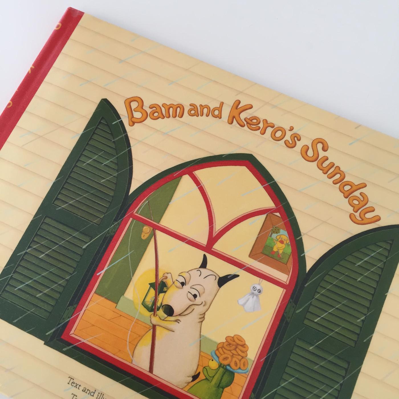 """""""Bam and Kero's sunday"""" 「 バムとケロのにちようび」英語版 (著者:田島ゆかさん)の読みどころは?"""