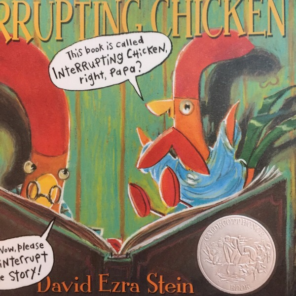 """""""Interrupting Chicken""""(デヴィット・エズラ・シュタイン:作)「 いいこでねんね」英語絵本読み聞かせ"""