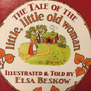 """挿し絵の美しい英語絵本 """"The Tale of the Little, Little Old Woman"""" (エルサ・ベスコフ:作)「ちいさなちいさなおばあちゃん」"""