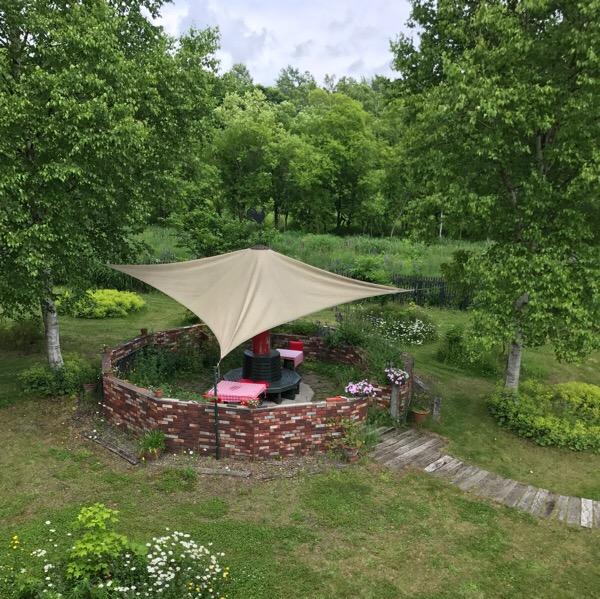 「森のランチPicnic」まるで外国にいるみたいな広いお庭を見ながら、のんびりランチ。【ニセコ ランチ】