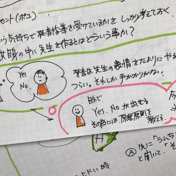 そうだ!トライしてみよう。11月19日の英語講座@東京でスケッチノートの手法を使ってみます。